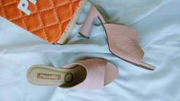 Tamanco Piccadilly Fashion Comfort Rose TAM 38
