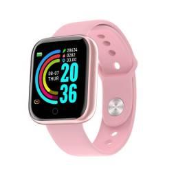 smartwatch Relógio Smart Y68/D20 Celular Rel Gio Com Bluetooth Usb Com Monitor