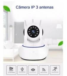 Câmera Ip Três Inova Antenas Wi Fi Visão Noturna
