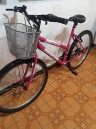 Ótima bicicleta feminina aro 26  / 21 marchas /  Houston