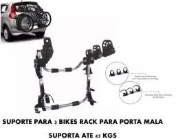 Título do anúncio: Para porta mala, suporte para 3 bicicleta