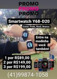 Título do anúncio: Smartwatch Y68-D20