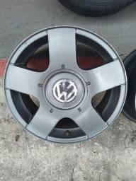Jogo de rodas Volkswagen aro 15 5x100