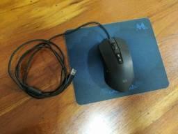 Mouse e teclado gamer mtek rgb