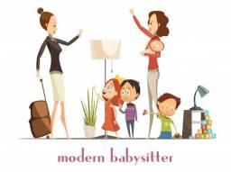 Ofereço serviço de babá com flexibilidade de horário