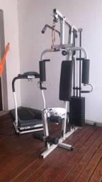 Máquina de Musculacao e esteira elétrica