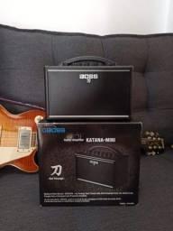 Amplificador Boss Katana Mini! (Zerado)
