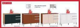 destak moveis - balcao 3p2g - direto de fabrica