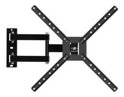 """Suporte Brasforma BRA4.0 de parede para TV/Monitor de 10"""" até 56"""" preto"""