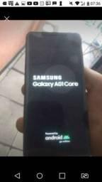 Samsung A01 core 32 gigas microfone ta ruim