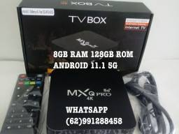 TV BOX NOVO 128GB ROM 4K 5G