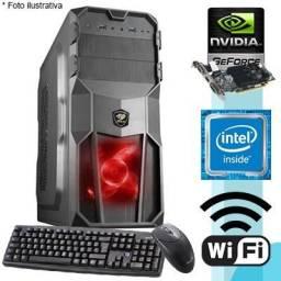 Computador Gamer Intel/ Asus / SSD / GTX 1050 (Somos Loja)