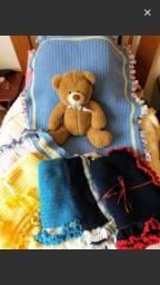 Manta bebê lã