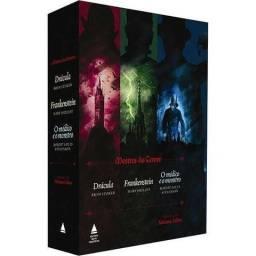 Box Do Terror: Drácula + Frankenstein + O Médico E O Monstro
