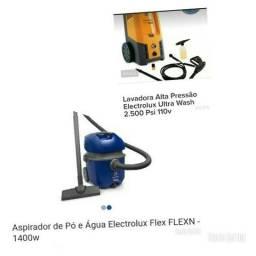 Lavadora de Alta Pressão e Aspirador de Água e Pó Flex Electrolux
