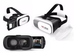 Óculos Vr Box 2.0 Realidade Virtual 3d Android +controle