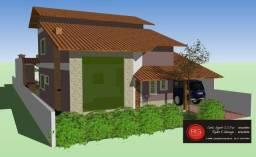Código 197 - Vendo casa em construção projeto lofts no Condomínio - Maricá