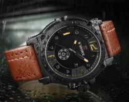 351d51ea6d4 Relógio Masculino Naviforce Militar Esportivo Pulseira Couro