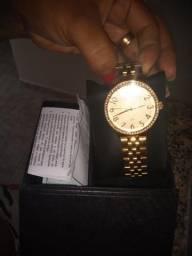 Relógio , original folheado 18 k