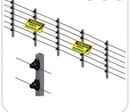 Cerca elétrica modelo industrial (vendemos e concertamos)