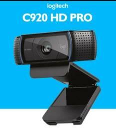 Câmera Webcam Logitech C920 Pro