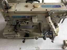 Máquina de costura galoneira aberta kingtex