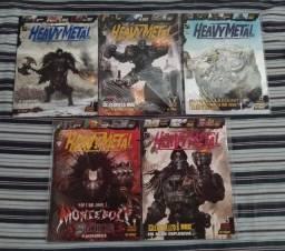 HQ/Quadrinho Heavy Metal, Mythos Editora