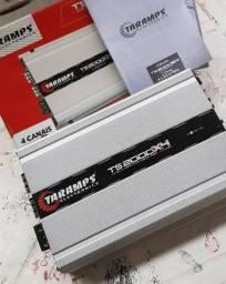 Módulo Taramps TS2000X4 impecável 2000wrms 4 canais - Aceito Ds800+Ds440+150 na troca comprar usado  Duque de Caxias