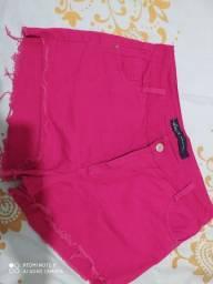 Short jeans Tam 44 sem Lycra leia a descrição