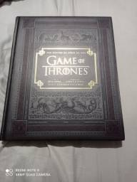 Livro capa dura Game Of Thrones