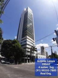 Antonio Lemos, 286m2, 4 suites, 3vg, batista campos!!!
