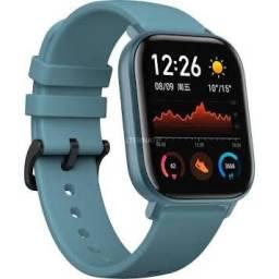 Relógio Amazfit gts a1914 azul versão global