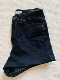 Shorts jeans da cea.n°38 com lycra nunca usado