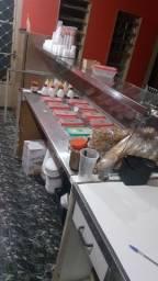 Vendo balcao e produtos acai/sorveteria