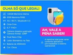 Smartphone Samsung Galaxy A71 128GB Cinza