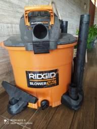 Aspirador de pó e água e soprador Ridgid
