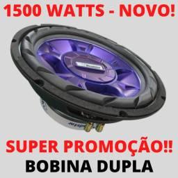 Subwoofer Roadstar 1500w 12 Polegadas Bobina Dupla Automotivo Sub Novo!