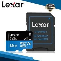 Cartão De Memória 32gb Lexar 633x High-performance 100mb/s