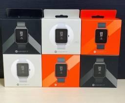 Relogio Xiaomi + Pelicula Amazfit Bip C/ GPS Lacrado Original Promoção