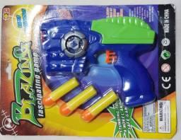 Pistola Nerf - Dispara Dardos Blazing - Pistola + 3 Dardos - NOVO