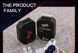 Qkz ck5 Fone de ouvido profissional para retorno de palco + presente