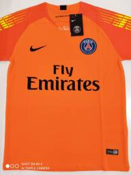 Camisa PSG Goleiro Laranja Nike 18/19 - Tamanho: P