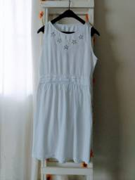 Vestido Branco da COLCCI