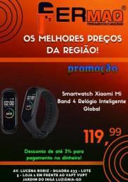 Smartwatch Mi Band 4 Relógio Inteligente Global