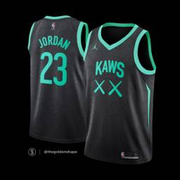 Promoção - Jersey Kaws x Jordan