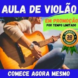 Aula de violão para iniciante - Valor promocional