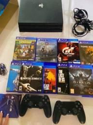 PlayStation 4 Pro 1Tera Com Nota