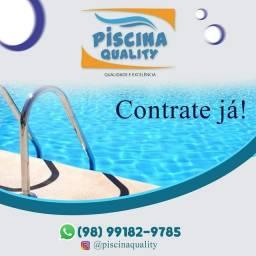 limpeza e manutenção de piscina em geral .