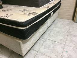 Cama casal Box base separada
