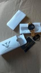 Relógio Nibosi Gold 1985